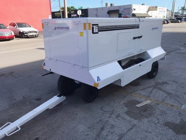Ground Power Unit Trilectron 140T400SLN TRI - 140 kVA + 28.5 vdc