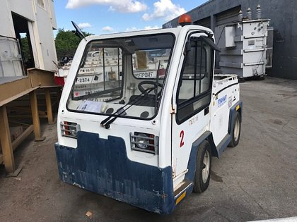 Baggage Tractor Electric TLD TEX-18