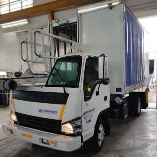 2007 Isuzu/Global RJ Catering CT12-115