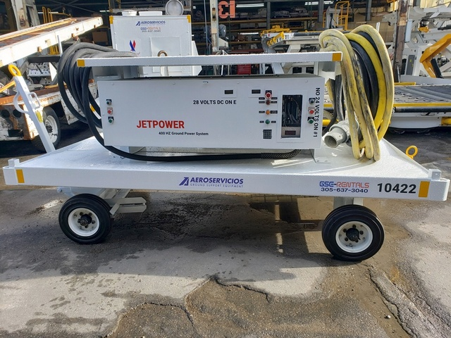 Ground Power Unit Jet Power - 120 kVA - 480V 3 Phase