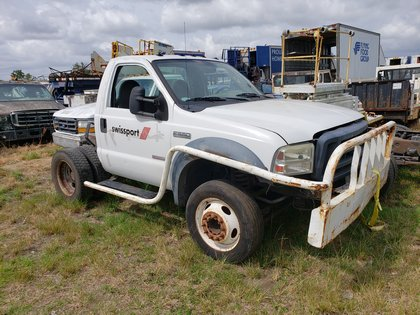 Truck Chassis Ford F-550