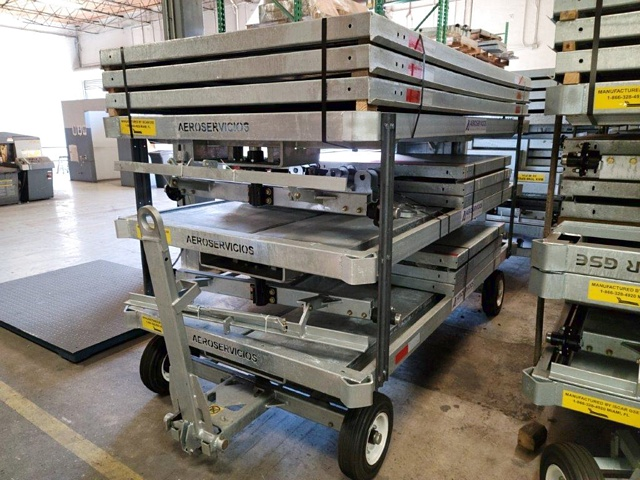 Baggage Carts Iscar BCL-8 Galvanized
