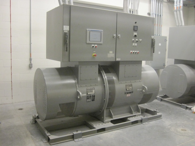 Aviation Motor Generator Set - 400 kVA / 320 kW, 400 Hz @ 575 V