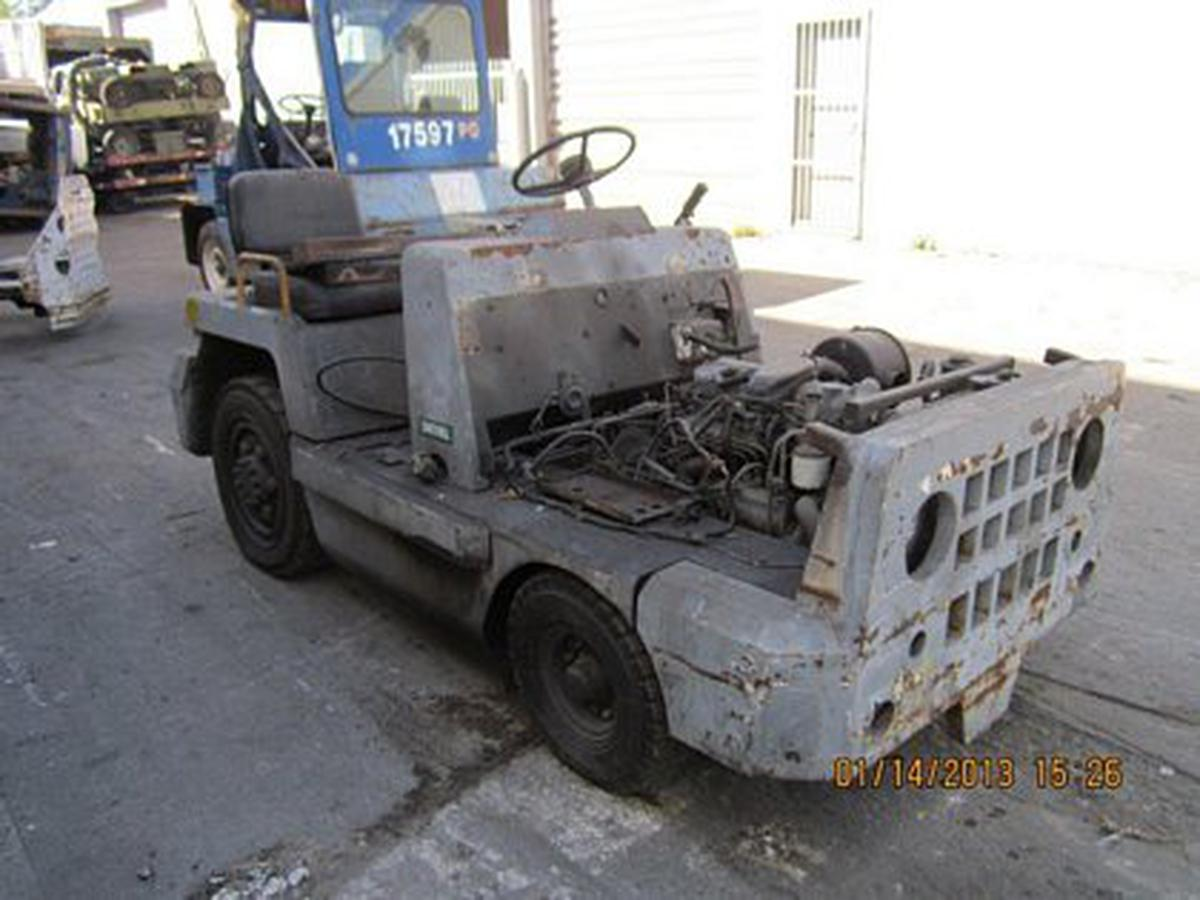 Baggage Tractor Toyota 02-TD25D