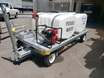 2019 Potable Water Service Cart STD-PC 310 gl. Galvanized