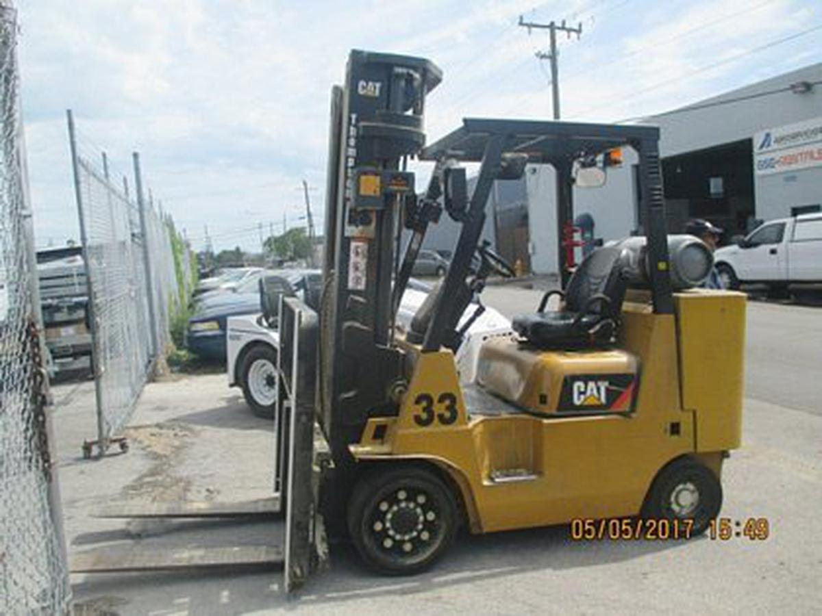 Forklift Caterpillar GC45KSTR